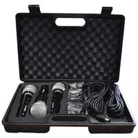 Soundlab G148KB Dynamic Vocal Microphone Kit