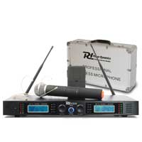 Power Dynamics 179.126 PD732C 2x 16-Channel UHF Wireless System & Mics