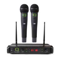 Q-Audio QWM 1940 V2 HH UHF Multi Channel Microphone System
