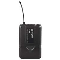 Skytec STB4 Bodypack Microphone Transmitter, UHF - 100Mhz
