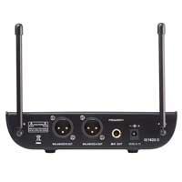Vonyx WM82 Wireless Handheld Microphone System, UHF 2-Channel