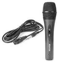 Dynamic Microphone DM105 Vocal Mic Mobile DJ PA MC Rehearsal Karaoke