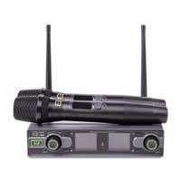 Q Audio QWM1950 Wireless Handheld Microphone System, Set of 2 (UHF)
