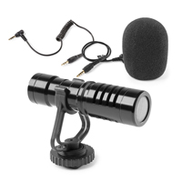 Vonyx CMC200 Phone & Camera Condenser Microphone