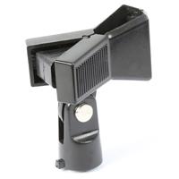 Vonyx Microphone Clamp Holder, 3/8 Inch - 5/8 Inch