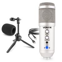 CM320S Studio USB Microphone with Echo & Desktop Stand - Titanium