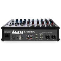 Alto Professional LIVE 802 8-Channel PA Mixer
