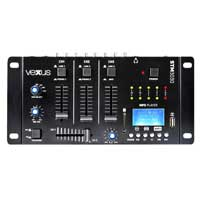 Vexus STM3030 4 Channel DJ Mixer with Bluetooth