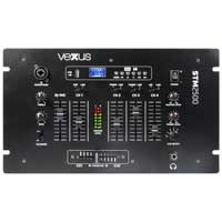 Vexus STM2500 Bluetooth DJ PA Mixer 5-Channel USB MP3 Talkover