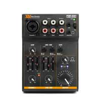 PD PDM-D301 3-Channel Mini USB DJ Mixer