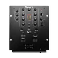 Numark M2 - Professional 2 Channel Scratch Mixer - Black