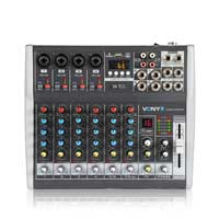 Vonyx VMM-K802 8 Channel Music Mixer