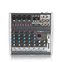 Vonyx 6 Channel VMM-K602 DSP Mixer