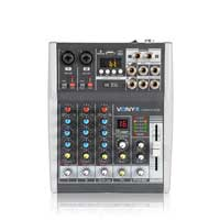 Vonyx VMM-K402 4 Channel Mixer