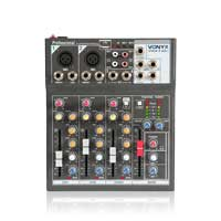 Vonyx VMM-F401 4 Channel Mixer
