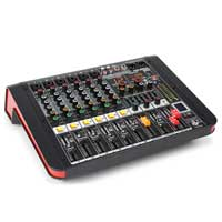 PD PDM-M604A 6-Channel Music Mixer with Amplifier