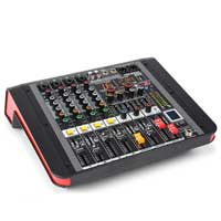 PD PDM-M404A 4-Channel Music Mixer with Amplifier