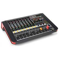 PD PDM-M804A 8-Channel Music Mixer with Amplifier