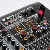 Power Dynamics PDM-M1204A 12-Channel Music Mixer with Amplifier
