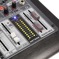 Power Dynamics PDM-S1204 12-Channel Professional Analog Mixer