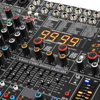 Power Dynamics PDM-S1604A 16-Channel Stage Mixer with Amplifier