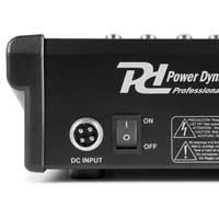 Power Dynamics PDM-M1204 12-Channel Music Mixer