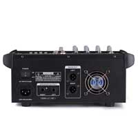 Vonyx AM5A 5 Channel Powered Mixer with DSP & Bluetooth