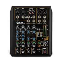 RCF F 6X F Series 6 Channel Mixing Console with Multi-FX