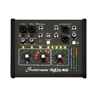 Studiomaster Digilive 4C 4 Channel Digital Mixing Console with DSP