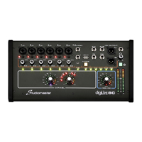 Studiomaster Digilive 8C 8 Channel Digital Mixing Console with DSP