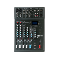 Studiomaster CLUB XS6+ 6 Channel Mixing Console with Bluetooth & DSP