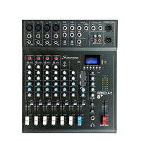Studiomaster CLUB XS8+ 8 Channel Mixing Console with Bluetooth & DSP