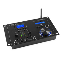 Vonyx STM3400 2-Channel DJ Mixer with Bluetooth