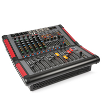 PD PDM-S804A 8-Channel Stage Mixer with Amplifier