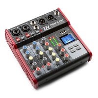 Small PA Mixer with Bluetooth & USB - PD PDM-X401 4-Channels