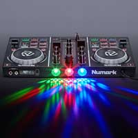 Numark Party Mix 2-Channel DJ Controller With Built-in Lights