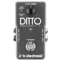 TC Electronic TC128 Ditto Stereo Looper Looper w. Stereo I/O and Back Tracking