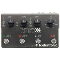 TC Electronic TC143 Ditto X4 Dual Track Looper Pedal