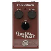 TC Electronic TC163 Rusty Fuzz Stompbox