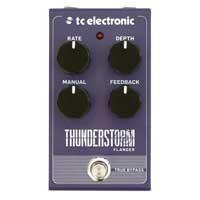 TC Electronic TC167 Thunderstorm Flanger Stompbox