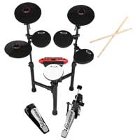 Carlsbro CSD130 R Electronic Drum Kit - 8 Piece Set