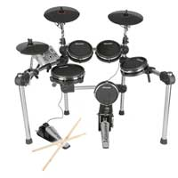 Carlsbro CSD500 Mesh Electronic Drum Kit - 8 Piece Set