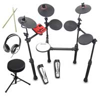 Carlsbro CSD100 R-PLUS Electronic Drum Kit + Stool & Headphones