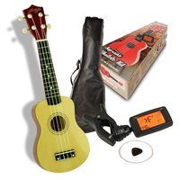 Johnny Brook Soprano Ukulele Kit - Natural