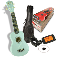 Johnny Brook Soprano Ukulele Kit - Blue