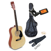 Johnny Brook Acoustic Guitar Kit, Natural