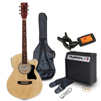 Johnny Brook Electro-Acoustic Guitar Kit with Amplifier