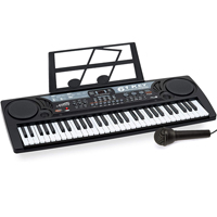 Electronic Music Keyboard - 61-Keys with Microphone