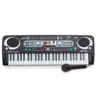 Electronic Digital Keyboard, 54-Key with Microphone