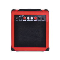 Johnny Brook Electric Guitar Combo Amplifier, Red